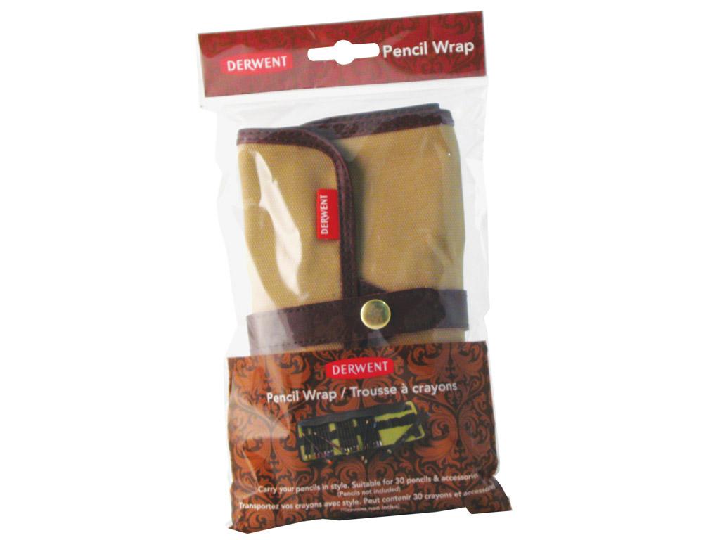 Textile pencil case Derwent Wrap