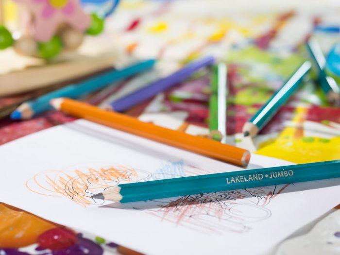 Krāsainais zīmulis Lakeland Jumbo