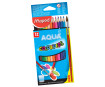 Watercolor pencils ColorPeps 12pcs + brush
