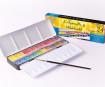 Watercolour set Sennelier l'Aquarelle 24 half pans with brush metal box