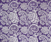 Lokta Paper 51x76cm Paisley Silver on Violet