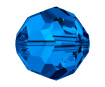 Kristallhelmes Swarovski ümar 5000 6mm 7tk 206 sapphire