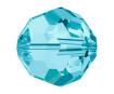 Kristallhelmes Swarovski ümar 5000 6mm 7tk 202 aquamarin