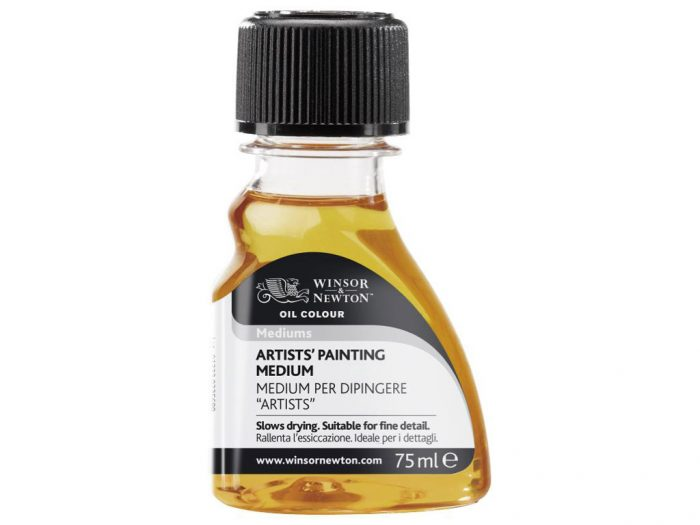 Oil colour painting medium Winsor&Newton Artists'