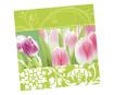 Servetėlės 33x33cm 20vnt. 3 sluoksnių Spring Awakening
