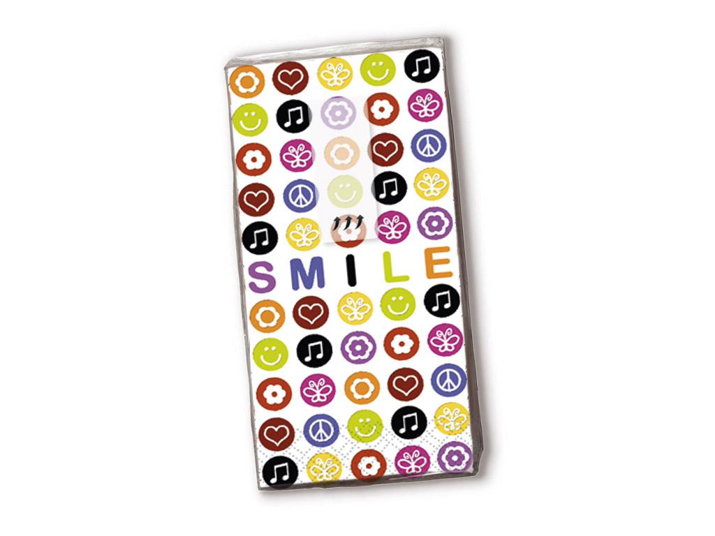 Taskurätikud 10tk 4-kihilised Smile