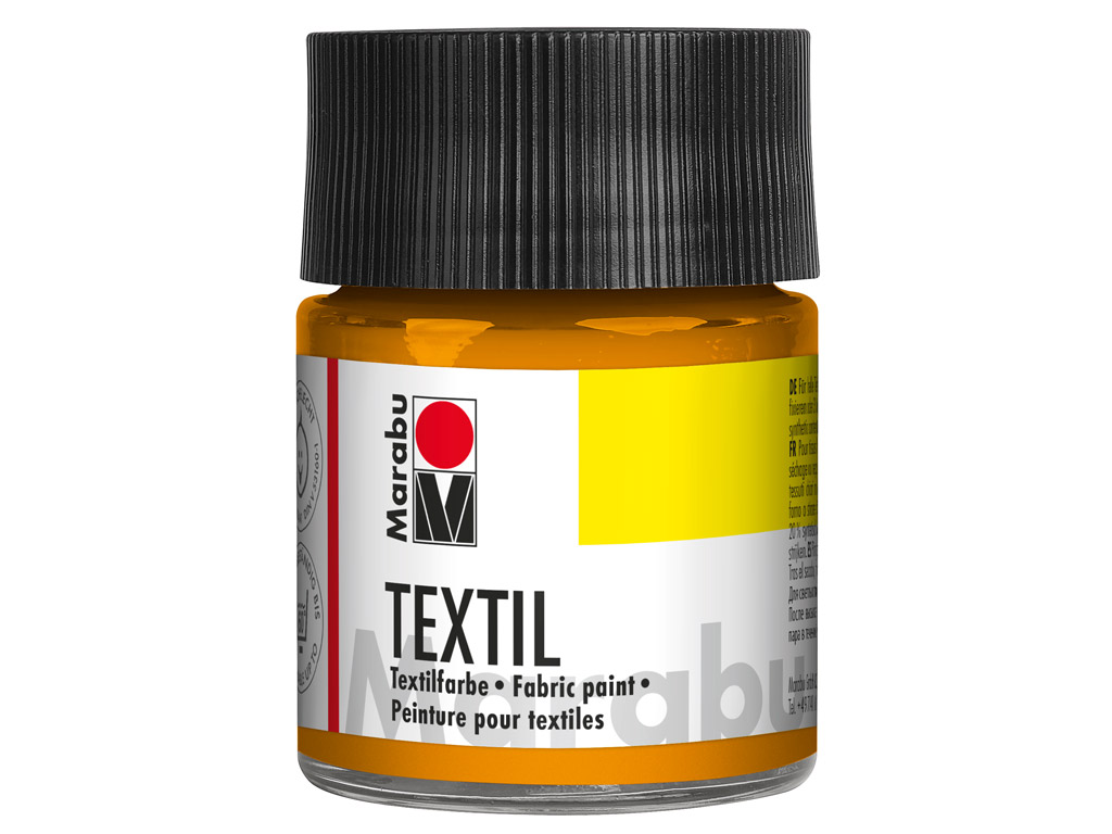 Fabric paint Textil 50ml 225 tangerine