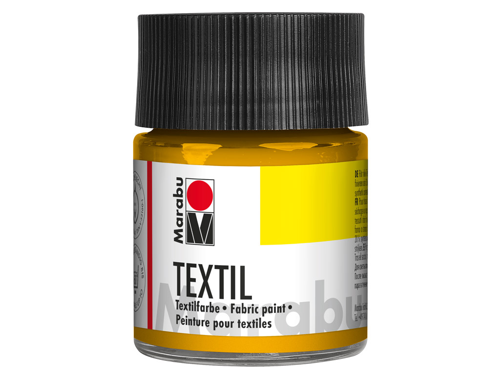 Fabric paint Textil 50ml 021 medium yellow