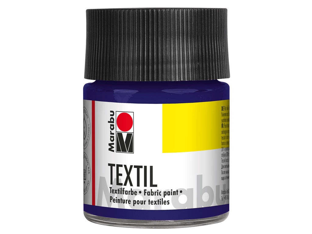 Fabric paint Textil 50ml 051 dark violet