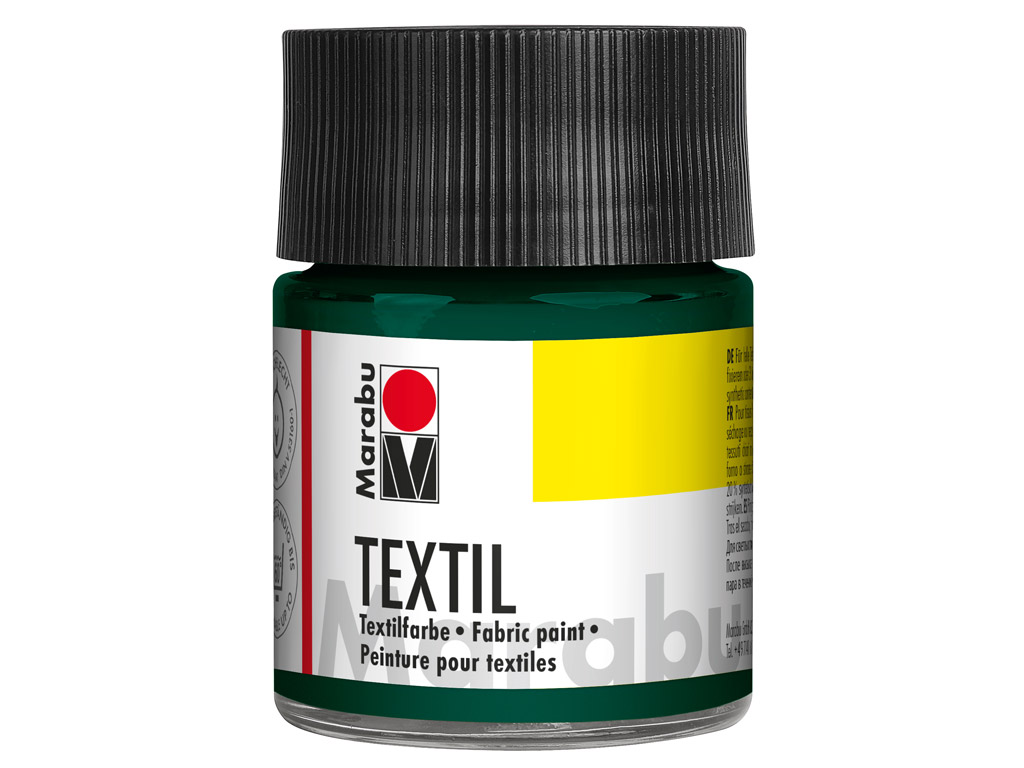 Fabric paint Textil 50ml 068 dark green