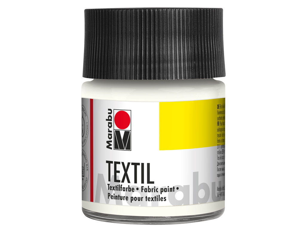 Fabric paint Textil 50ml 070 white