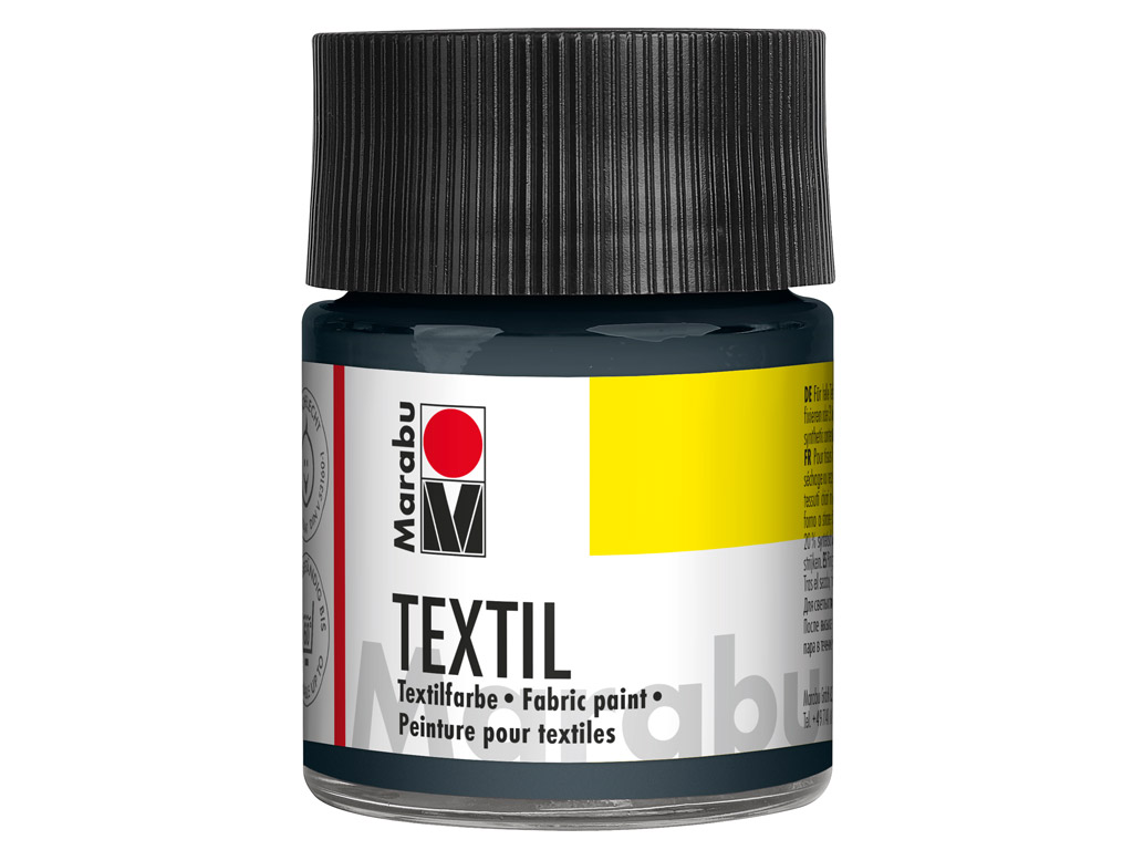 Fabric paint Textil 50ml 078 grey