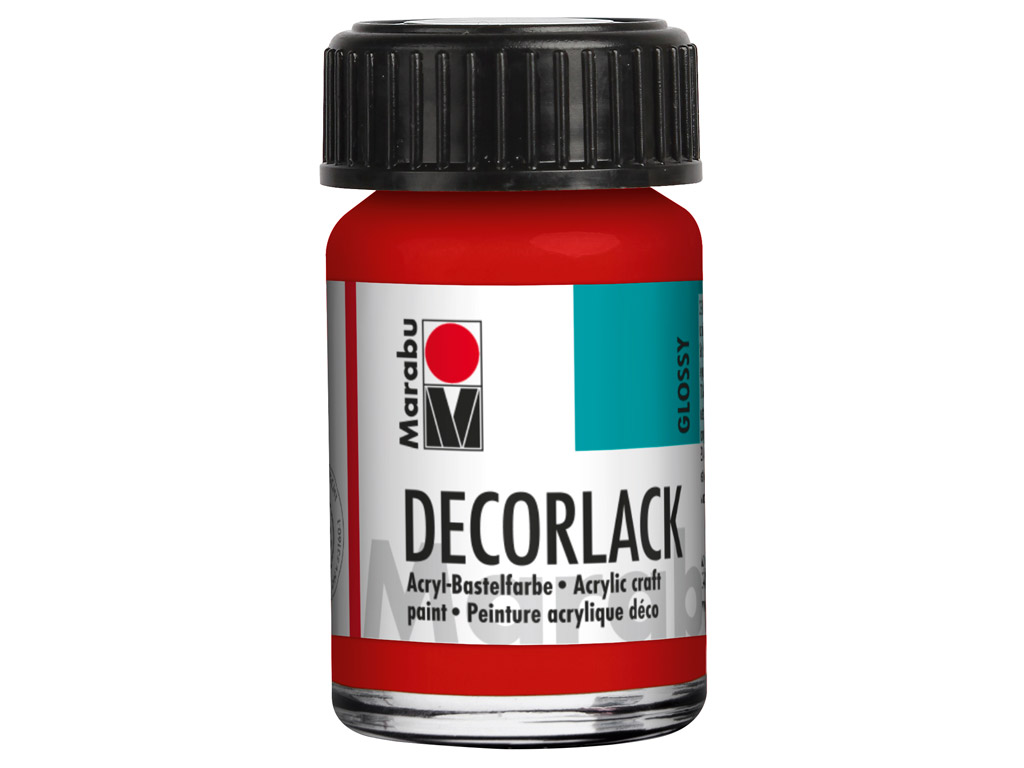 Dekoratyviniai dažai Decorlack 15ml 230 geranium