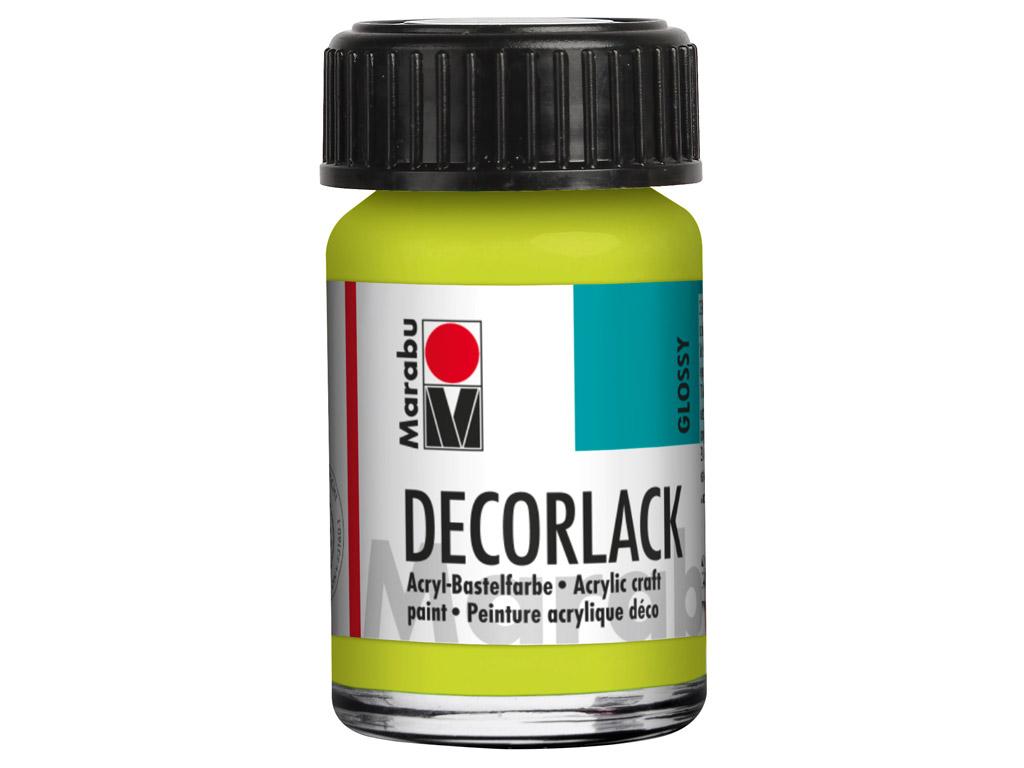 Dekoratyviniai dažai Decorlack 15ml 061 reseda