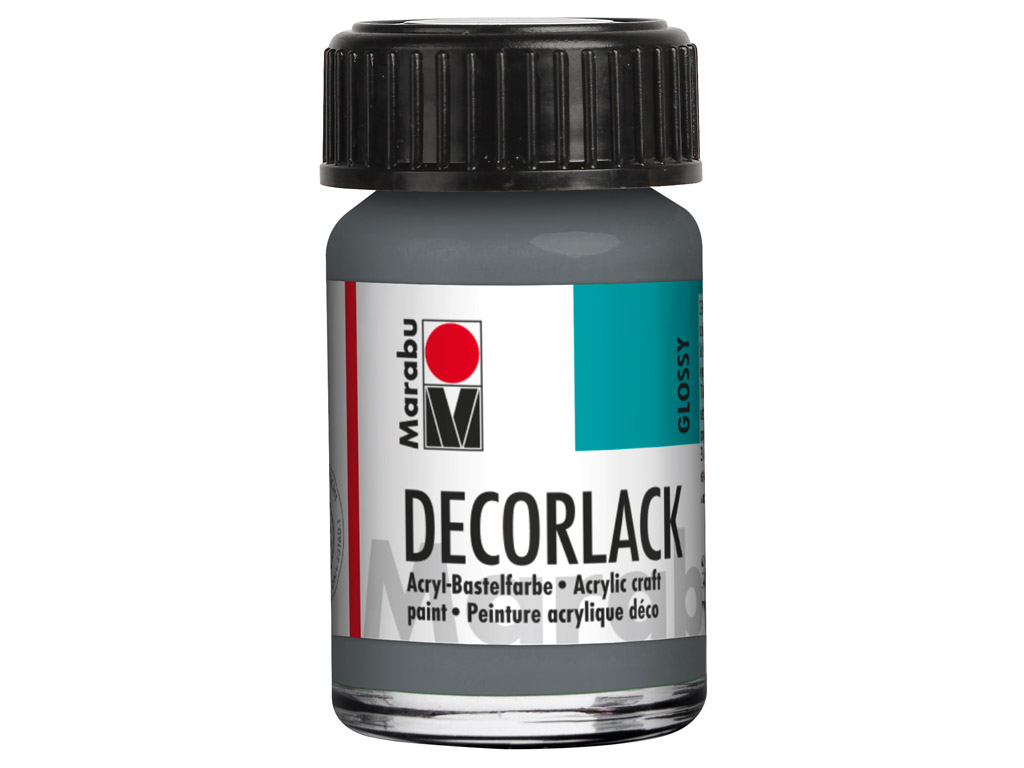 Dekoorvärv Decorlack 15ml 078 grey