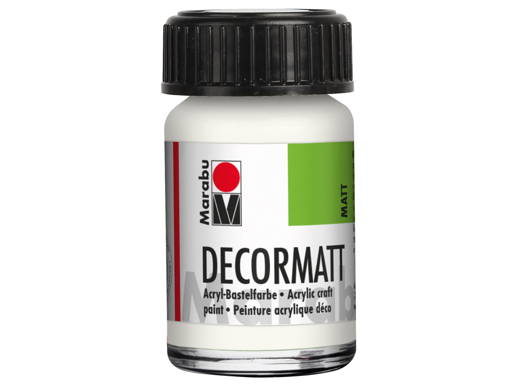 Hobby acryl Decormatt 15ml 070 white