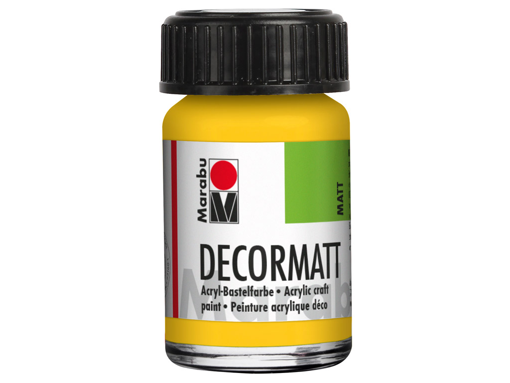Hobby acryl Decormatt 15ml 021 medium yellow