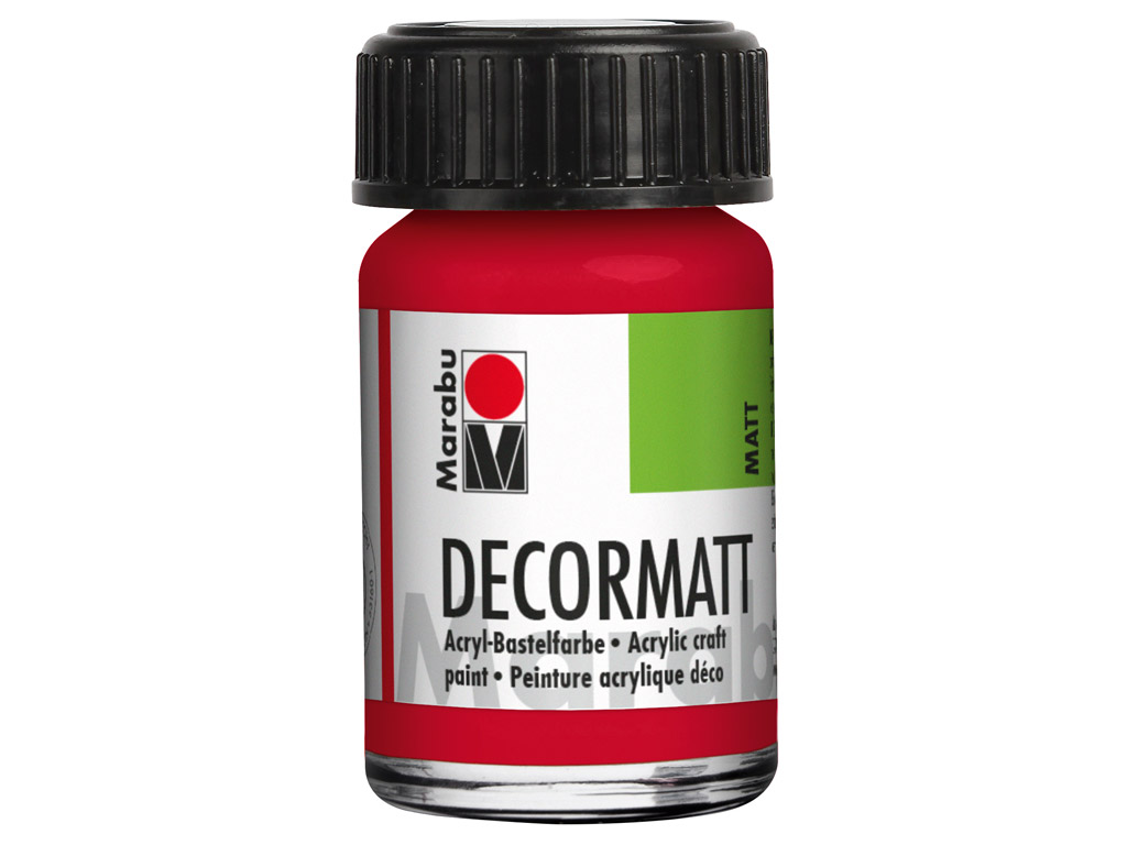 Hobby acryl Decormatt 15ml 031 cherry red