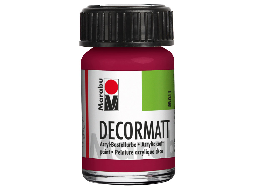 Hobby acryl Decormatt 15ml 004 garnet red