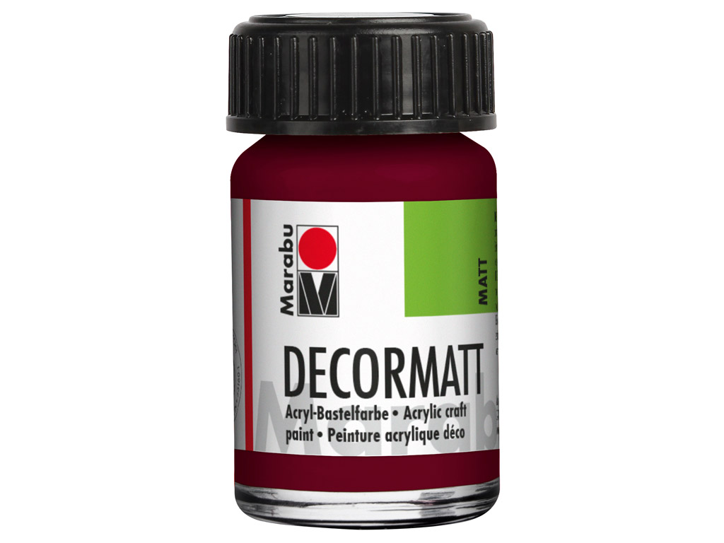 Dekoorvärv Decormatt 15ml 034 bordeaux