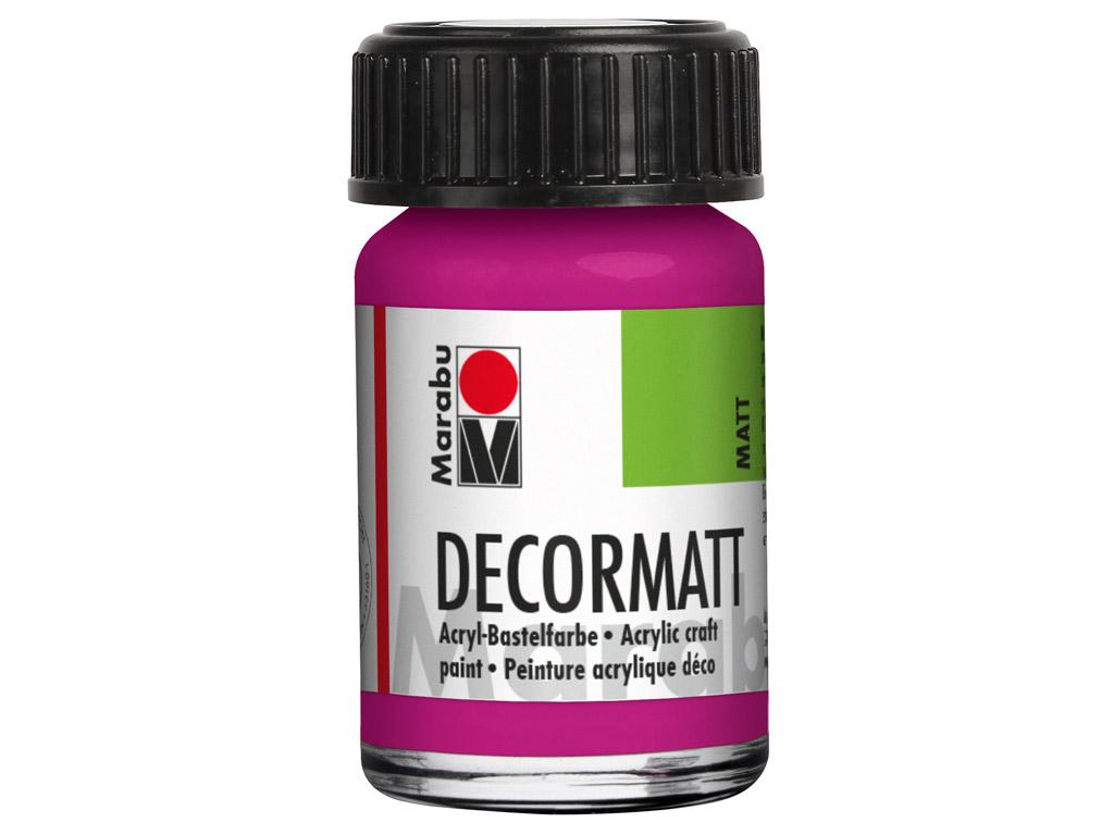 Dekoorvärv Decormatt 15ml 014 magenta