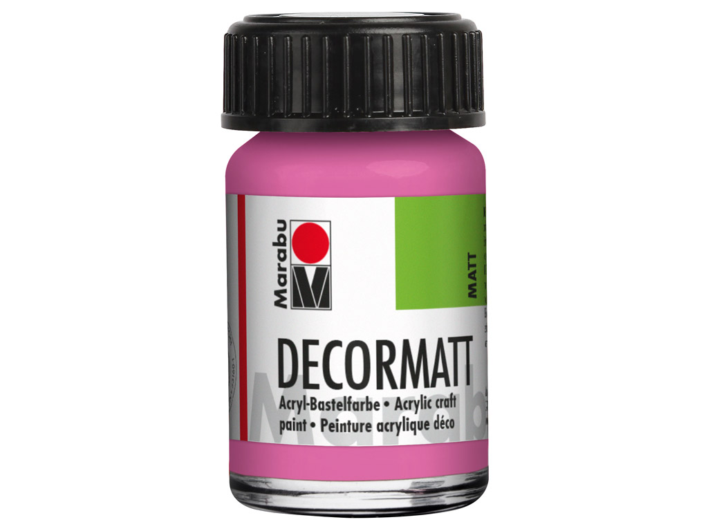Dekoratyviniai dažai Decormatt 15ml 033 pink