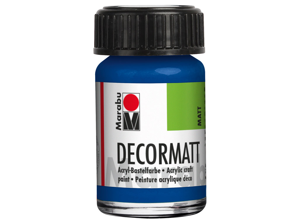 Hobby acryl Decormatt 15ml 257 royal blue