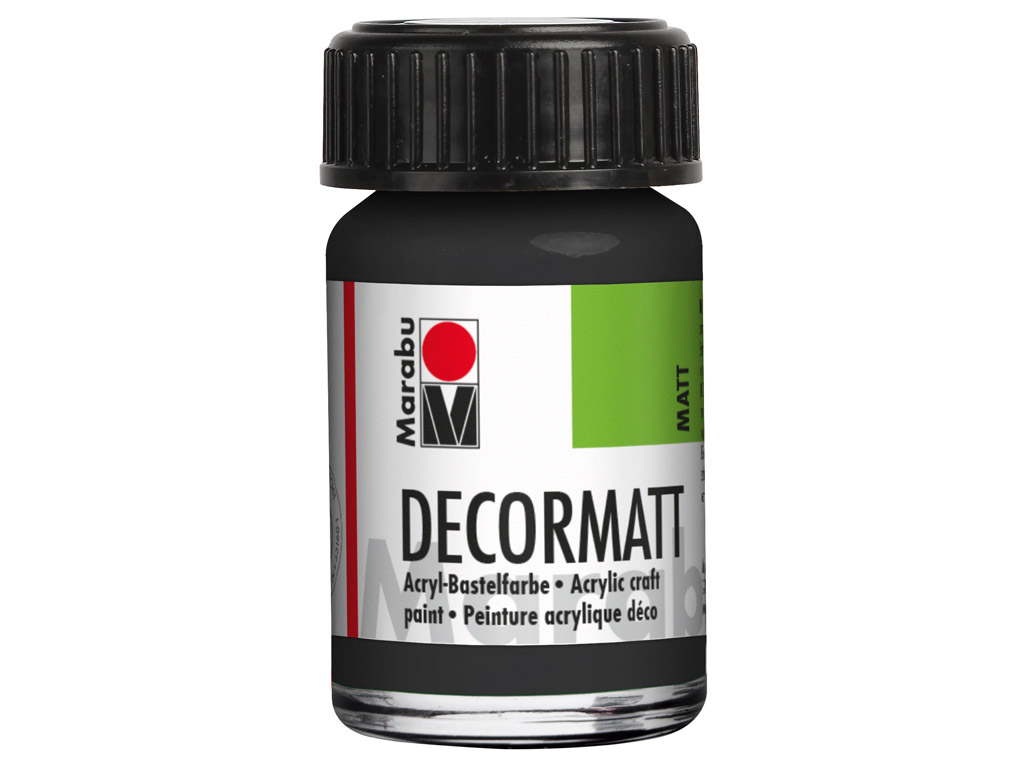 Hobby acryl Decormatt 15ml 073 black