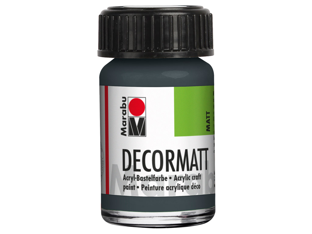 Hobby acryl Decormatt 15ml 079 dark grey