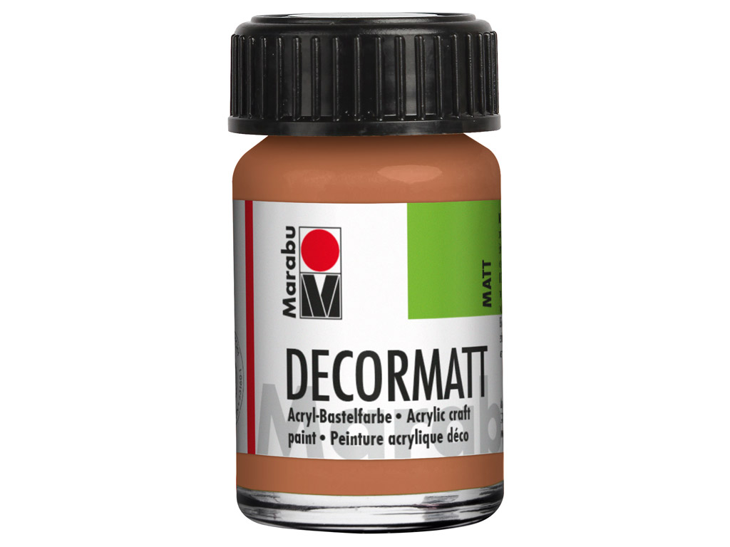 Dekoorvärv Decormatt 15ml 787 metallic-copper