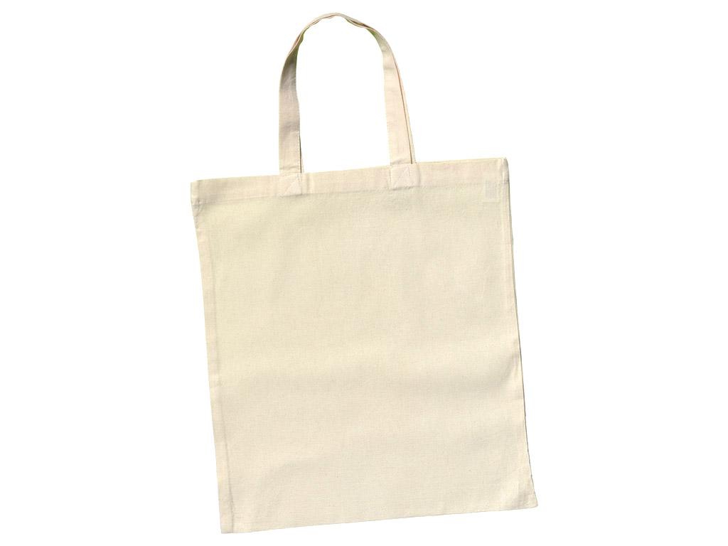 Medvilninis maišelis 38x42cm trumpos rankenos