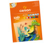 Coloured carton pad Canson Kids 24x32/185g 10 sheets