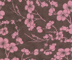 Nepaali paber A4 Cherry Blossom Pink on Dark Brown