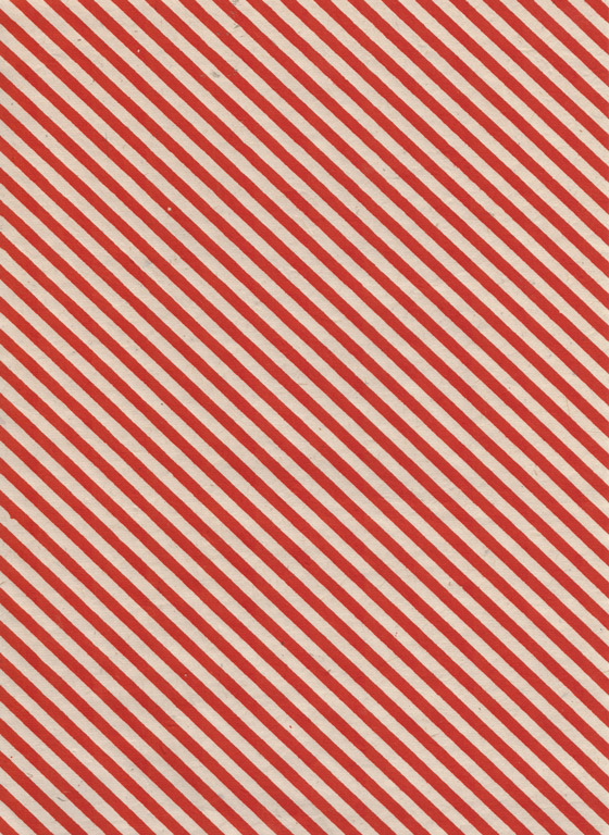 Lokta Paper A4 Stripes Gold on Red