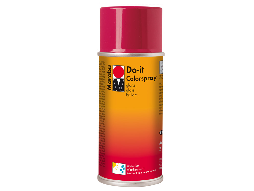 Spray Marabu Do-it 150ml 931 gloss red