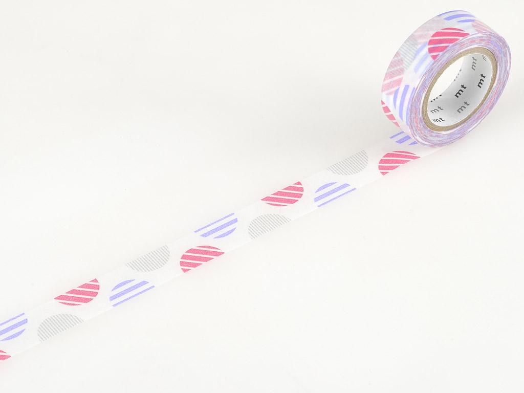 Washi teip mt 1P deco 15mmx10m arch pink