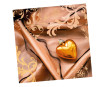 Napkins 33x33cm 20pcs 3-ply Heart of gold
