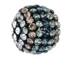 Kristallidega kera Swarovski 40519 19mm BKDE black degradee