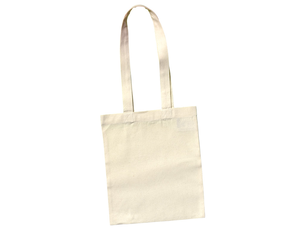 Cotton shopping bag 24x28cm XL handles