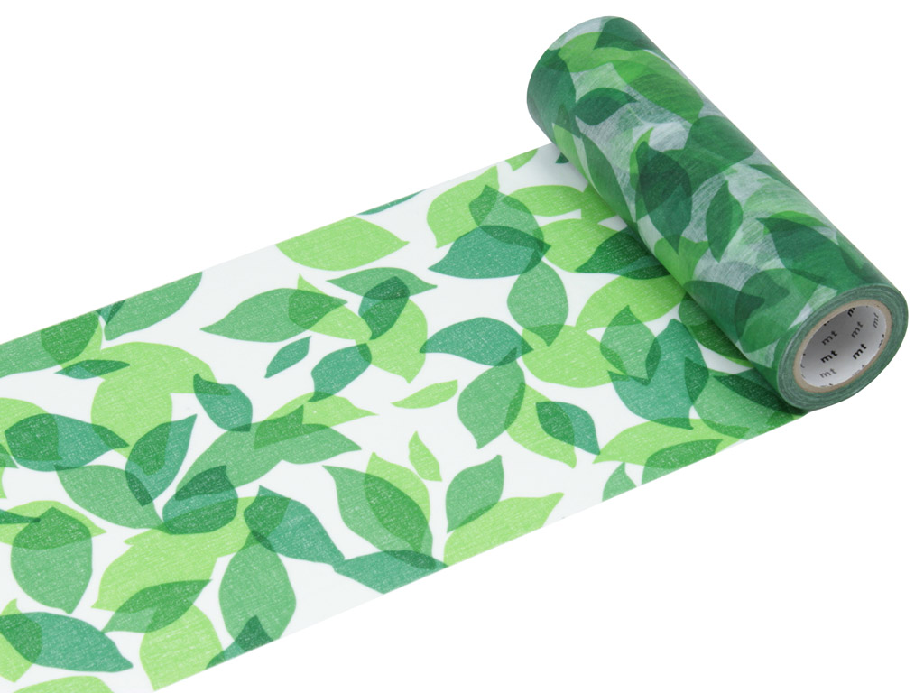 Washi teip mt casa shade 150mmx10m leaf S