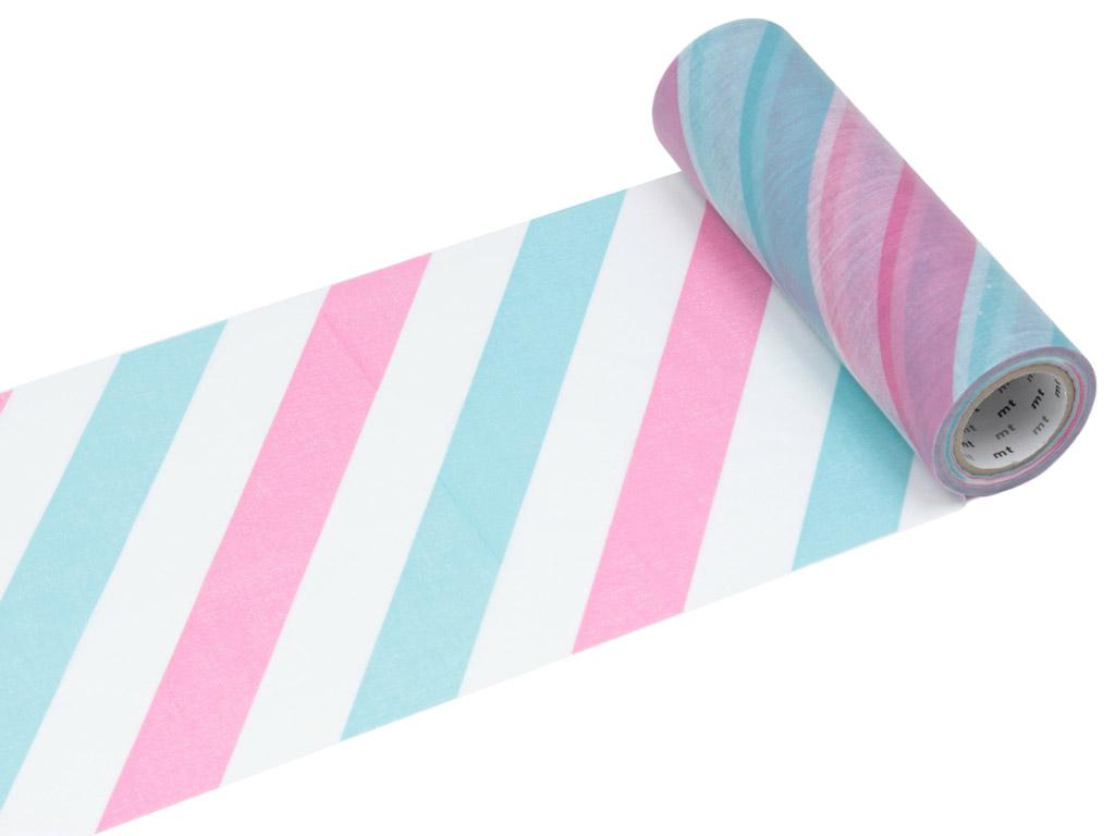 Washi dekoratyvi lipni juostelė mt casa shade 150mmx10m stripe S