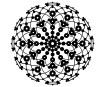 Stencil Marabu Silhouette 30x30cm Lace Rosette