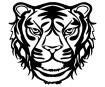 Šabloon Marabu Silhouette 30x30cm Wild Tiger
