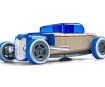 Žaislinis automobilis Automoblox Mini HR-3 hotrod coupe blue