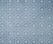 Lokta Paper 51x76cm Morocan Tiles Sky Blue on Navy Blue
