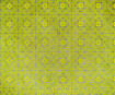 Lokta Paper 51x76cm Morocan Tiles Yellow on Olive