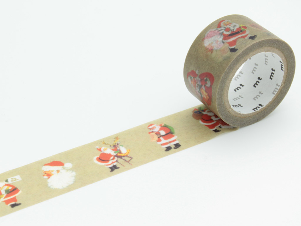Masking tape mt Christmas 25mmx7m Santa Claus