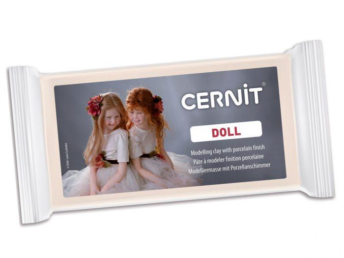 Polimerinis molis Cernit Doll 500g
