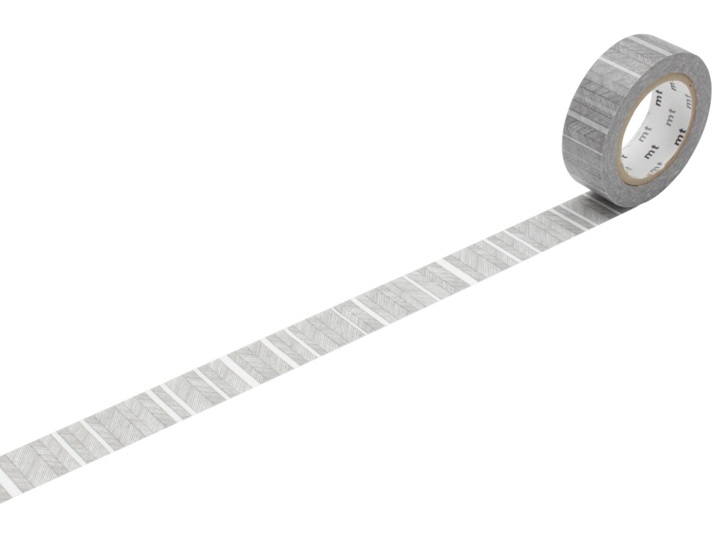 Washi līmlente mt 1P deco 15mmx10m script border monochrome