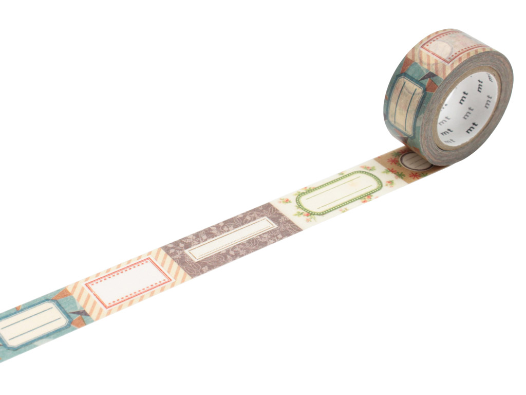 Masking tape mt ex 20mmx10m label